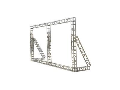 吉喆嚞热镀锌方管桁架加固桁架演出舞台婚庆背景架舞台批发厂家直销HW 长度20厘米