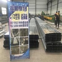 广东钢结构楼承板压型高强度镀锌楼承板国标Q235 YXB665-185-555