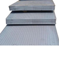 广东钢材批发 花纹板 镀锌花纹卷板 防滑楼梯踏步铁钢板 开平切割