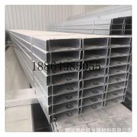 生产高强度Q345材质 楼承板 120*70*20*3.0规格热镀锌C型钢檩条