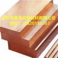 供应江铜铍青铜板QBe1.7 环保铍铜中厚板