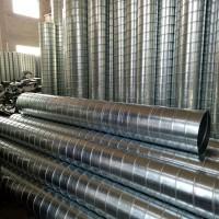 不锈钢镀锌螺旋风管 白铁皮排风烟管不锈钢排气管不锈钢焊接管