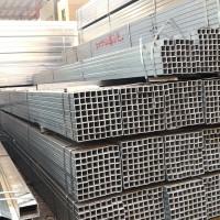 佛山乐从直销方管Q235B热镀锌方矩钢管 大棚管架子镀锌管现货批发
