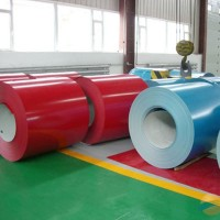 厂家供应各种规格化工企业管道保温用白灰色彩涂板彩钢板彩钢卷