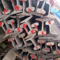 现货供应43kg轨道钢 钢轨铁道轨国际标准30公斤轻轨产地邯郸