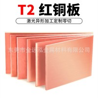 批发环保紫铜板 1*2m紫铜板 T2紫铜板 大板面紫铜板可定制切割