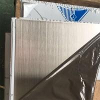不锈钢磨砂拉丝板 不锈钢工程彩色装饰板 酒店背景装饰板非标定制