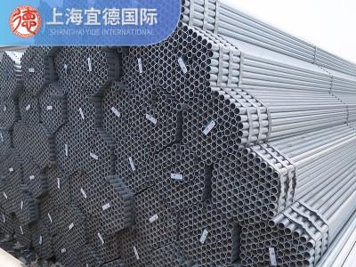新疆钢材 专做新疆 乌鲁木齐现货 焊管 Q195衬塑管DN15 4分*2.5mm
