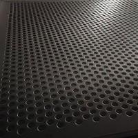 304不锈钢冲孔网 Q195b材质筛板 镀锌板滤网 圆孔通风散热筛板