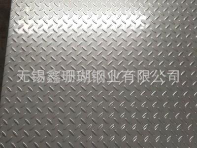 304不锈钢花纹板 厂家直销花型可做扁豆/柳叶/四连排/圆点/细花等
