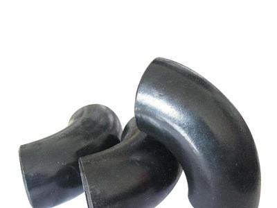 厂家定制大口径90度45无缝碳钢冲压弯头长半径弯管焊接钢制铁弯头