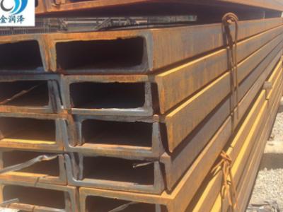 内蒙古幕墙热轧槽钢 热镀锌槽钢厂直销 Q235B各种规格热镀锌槽钢