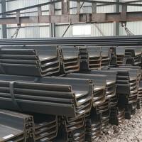 U型钢板桩 批发钢板桩 U型钢板桩 钢板桩尺寸 钢板桩理论重量