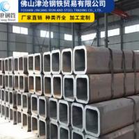 广东厂家供应 矩形管 黑料热轧方管 厚壁方矩管 Q345B 大口径方通