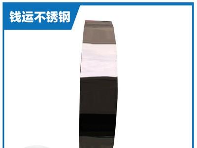 厂家供应一级达标玫瑰金电镀不锈钢带精密涂镀201非标定制