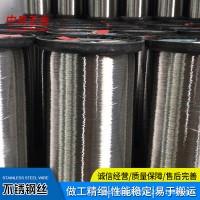 厂家现货 不锈钢细钢丝软线光亮中硬电解丝 工业异形丝直条焊丝