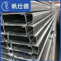 佛山厂家冷弯异型钢 热镀锌C型钢Q235BC型钢 钢结构屋面檩条