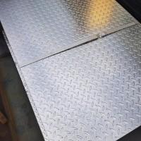 铝合金板3003防滑铝卷 压花覆膜镜面花纹铝板 民用花纹板