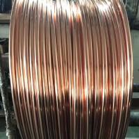 镀铜接地棒14.2镀铜圆钢 接地配件等镀铜扁线 铜包钢绞线