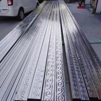 现货304不锈钢大门75X45弧度管门头弯欧式庭院大门S方祥云管弯管