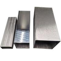 304不锈钢方管矩形管圆管型材201扁管通激光架子焊接零切加工定制