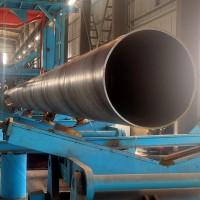 规格齐全Q235B大口径厚壁螺旋钢管 厂家直销1220输水专用螺旋钢管