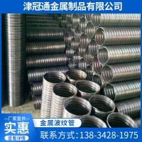 供应预应力波纹管 隧道金属波纹管钢绞线穿束预留孔道管定制