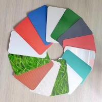 厂家直供彩涂铝板  钢板 板 各种规格 彩铝卷 滚涂铝卷可拿样专拍