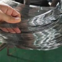 厂家生产镀锌铁丝 改拔丝 丝径0.4毫米水亮丝 提梁丝铁线