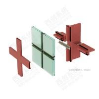 供应直角钢精制钢直角方管西创系统钢系统幕墙