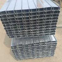 薄壁镀锌C型钢 国标定尺C型钢生产厂家 年前有优惠