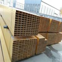玻璃钢方管圆管工字钢槽钢角钢圆棒拉挤型材污水池围栏平台护栏