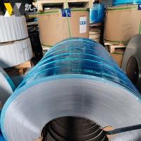 深圳现货 5083铝卷拉伸O态 0.2MM单面贴膜分条 5083-H112铝带材