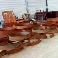 现货供应 Q295NH钢板 景观用耐候板 Q295NH耐候板 保材质