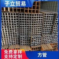 佛山现货供应矩形管 规格齐全钢结构幕墙建筑用Q235B镀锌方管